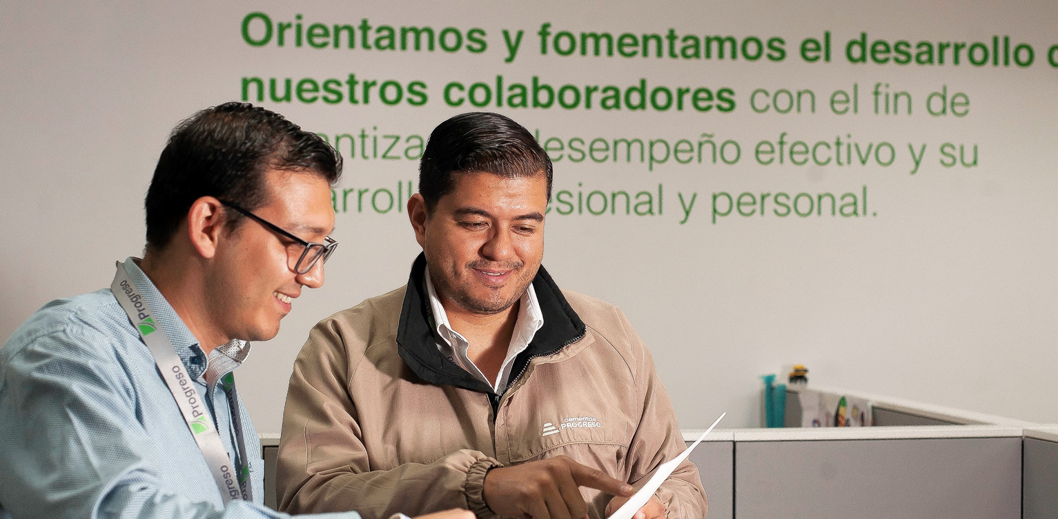 Construimos una cultura de servicio capaz de sorprenderte cempro guatemala cementos progreso v2