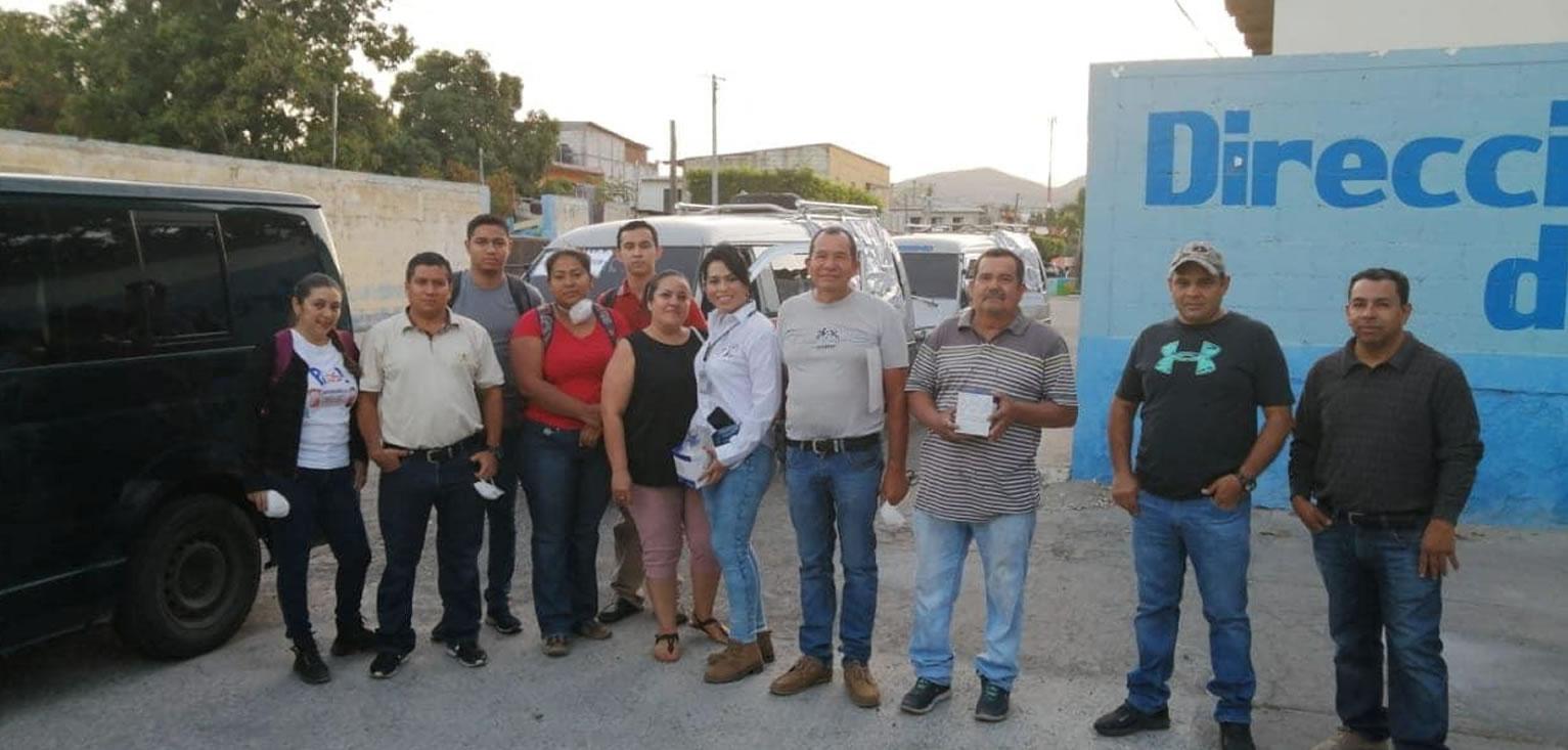 Nuestro compromiso es con Guatemala- Apoyamos el traslado del personal médico en El Progreso cempro