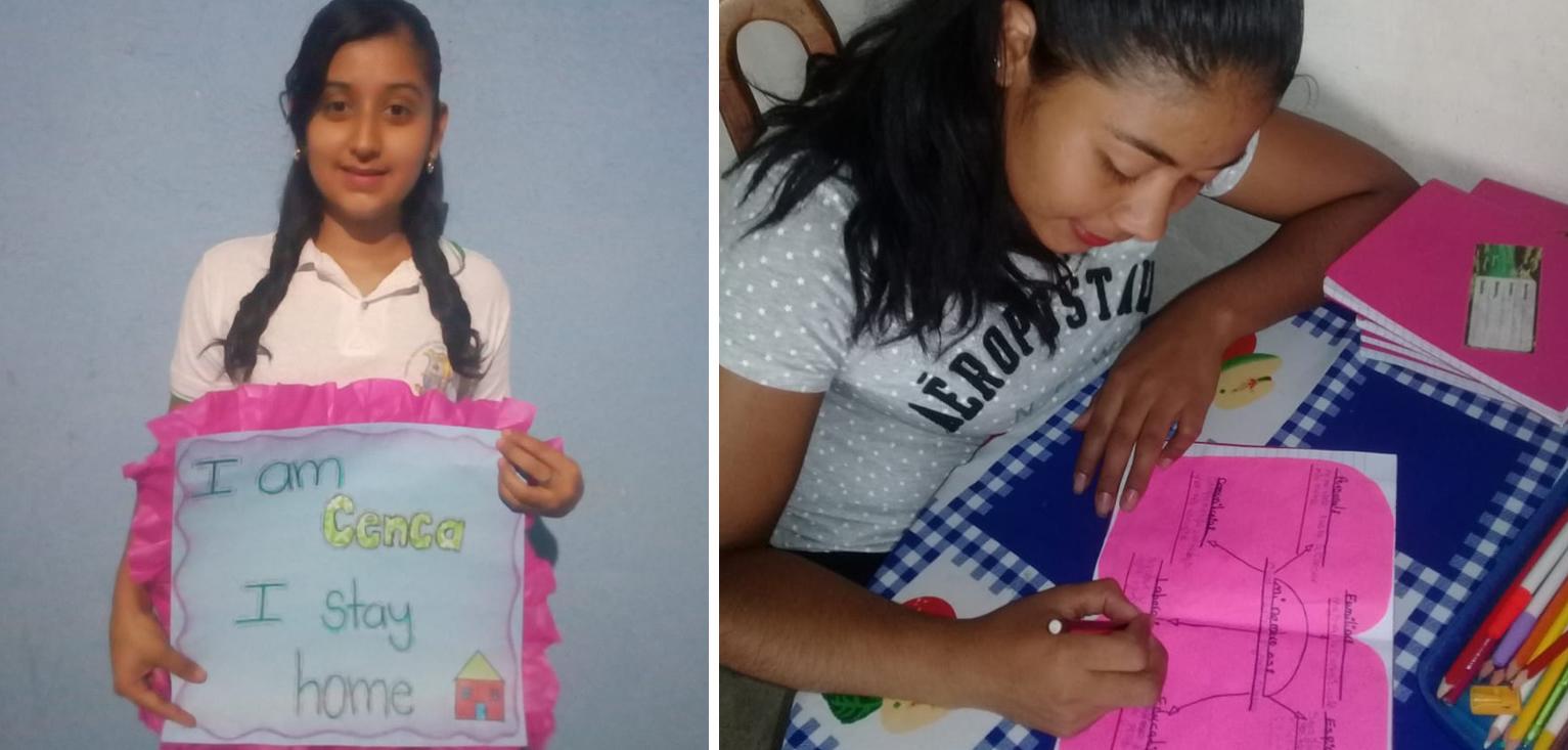 cenca estudiantes aprovechan medios digitales para continuar estudiando cementos progreso guatemala CEMPRO