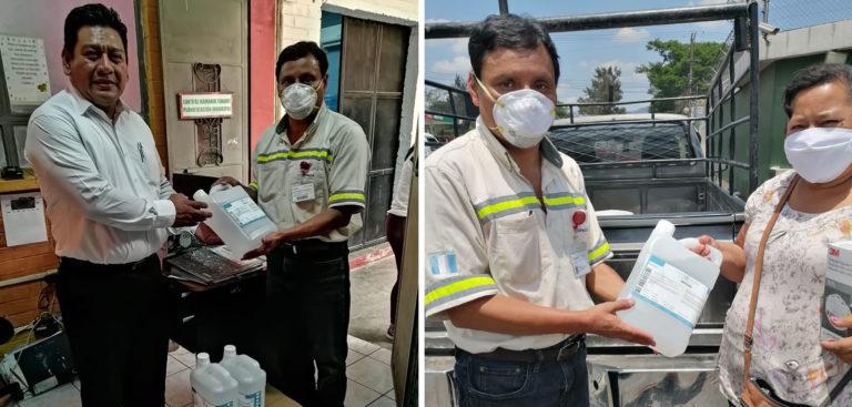 Agreca impulsa el lavado de manos en Escuintla CEMPRO Cementos Progreso Guatemala