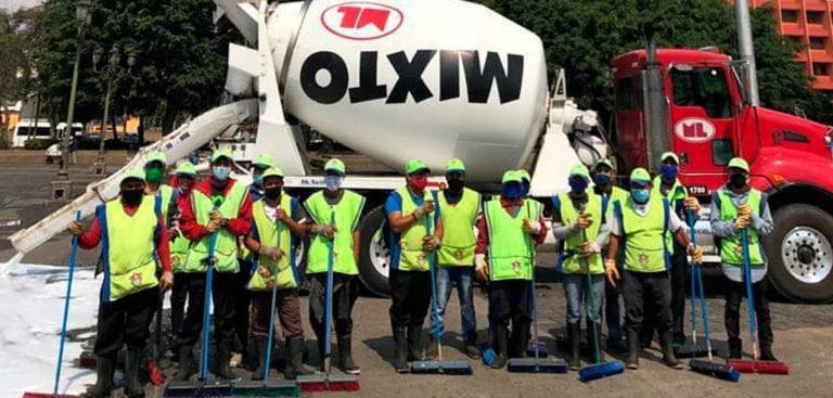 Mixto Listo se une a la municipalidad de Guatemala para limpiar la ciudad CEMPRO Guatemala Cementos Progreso