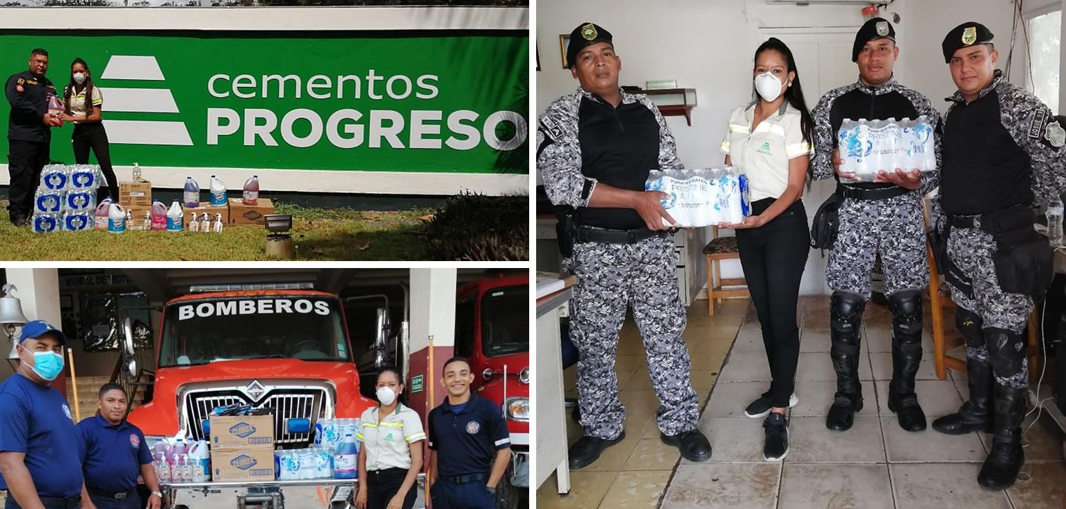 Un compromiso regional para afrontar la emergencia juntos cempro cementos progreso