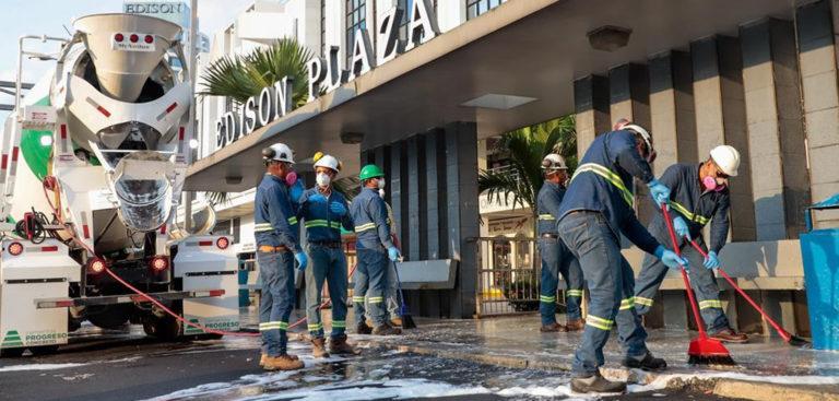 Unidos venceremos- Apoyamos a las autoridades panameñas a reducir riesgos cempro panama cementos progreso