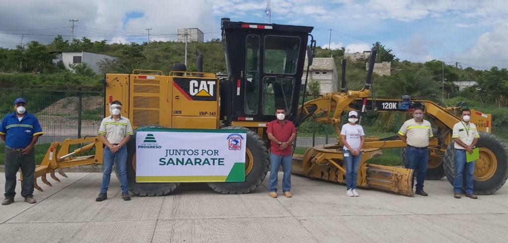 Sumamos esfuerzos para que en Sanarate todos puedan transitar cempro cementos progreso guatemala