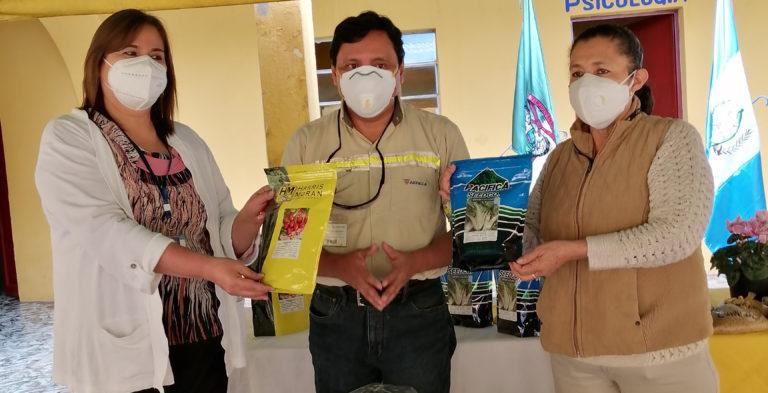 Huertos familiares, una alternativa para fortalecer la alimentación en comunidades de Suchitepéquez y Amatitlán cempro agreca guatemala