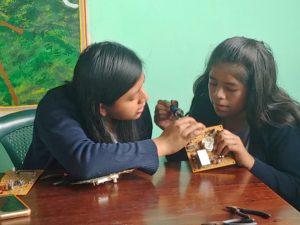 las niñas en la ciencia Fundacion Carlos F Novella Progreso Guatemala