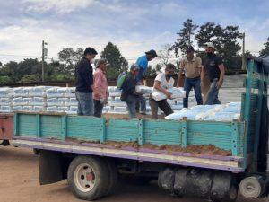 piso de concreto es saludable y previene enfermedades San Juan Sacatepequez Guatemala Progreso