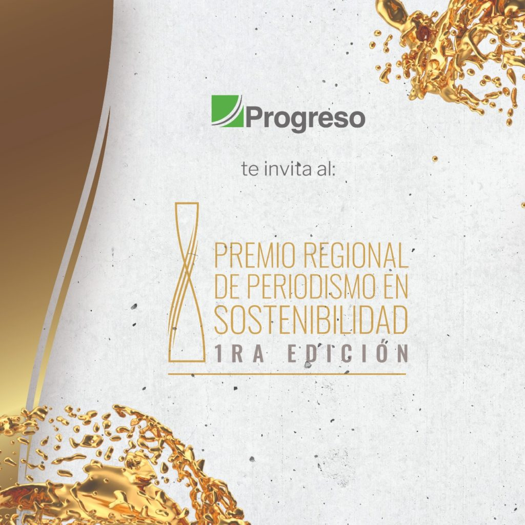 premio de periodismo de sostenibilidad progreso America central