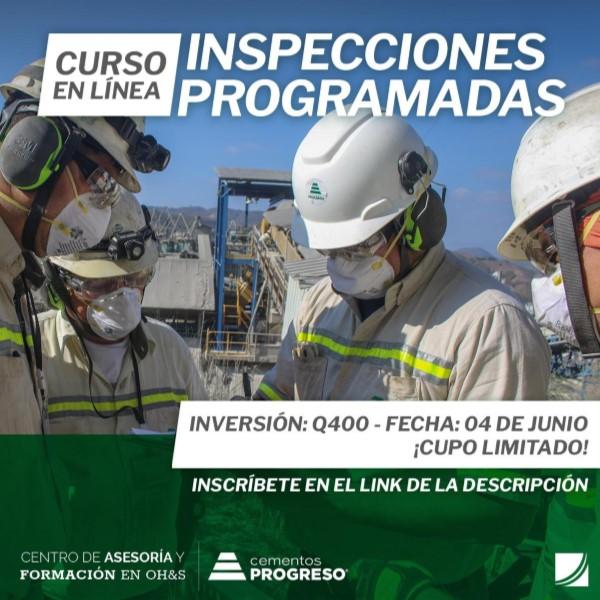 curso de inspecciones programadas compro progreso guatemala