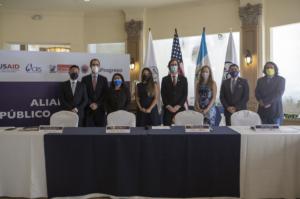 Progreso y Catholic Relief Services firman alianza para mejorar la calidad de vida de hogares Guatemala Latam USAID