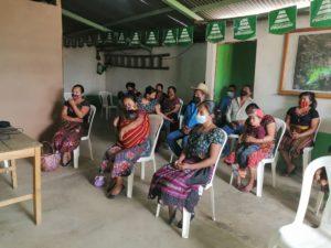 charlas informativas previo a reforestar con 106 mil arboles las comunidades Progreso Guatemala