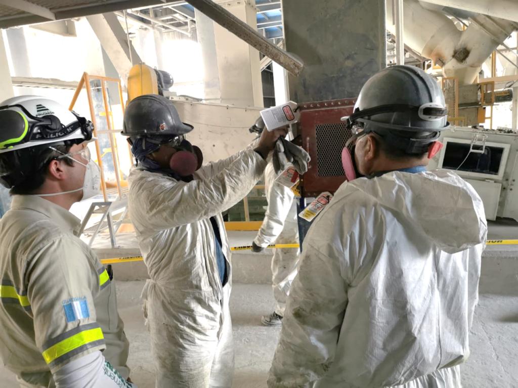 planta de predosificados de Progreso Guatemala cumple 2 años sin accidentes industriales
