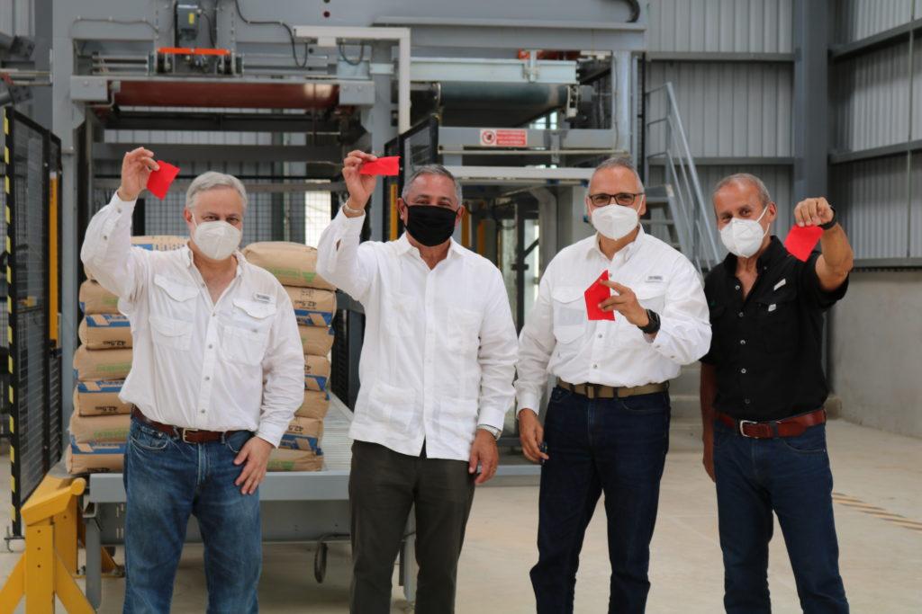 cementos progreso inaugura su primera planta de cemento en belice