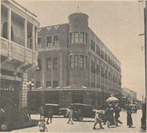 Edificio La perla zona 1 ciudad capital de Guatemala Fotografía: cortesía del Museo Nacional de Historia Centro Histórico