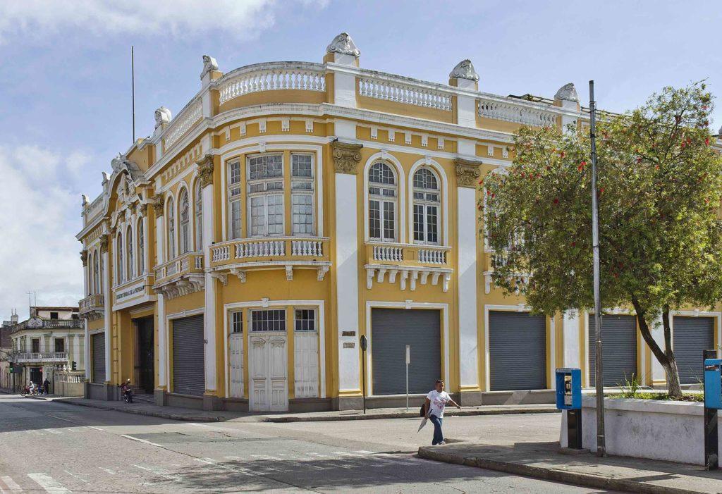 Edificio Auxilios Mutuos Comercio 2021 Foto Edgar E Sacaron Centro Histórico Guatemala Ciudad Capital zona 1