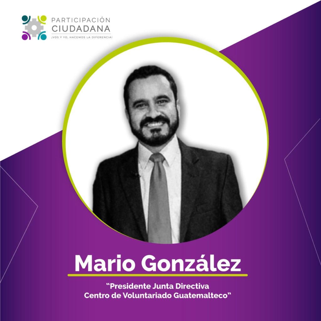 Mario Gonzalez durante el foro virtual como construir ciudadania en tiempos de pandemia