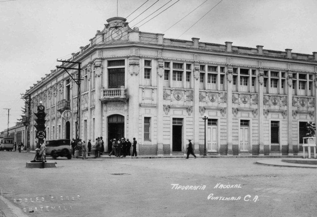 Tipografia Nacional de Guatemala Fototeca Museo Carlos F Novella Guatemala