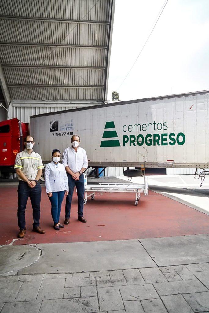 camas hospitalarias donacion de 150 cempro cementos progreso cerveceria centroamericana y coporacion multi inversiones guatemala covid19 covid