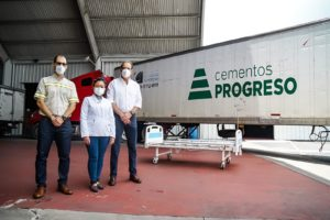 camas hospitalarias donacion de 150 cempro cementos progreso cerveceria centroamericana y coporacion multi inversiones guatemala covid19 covid parque de la industria