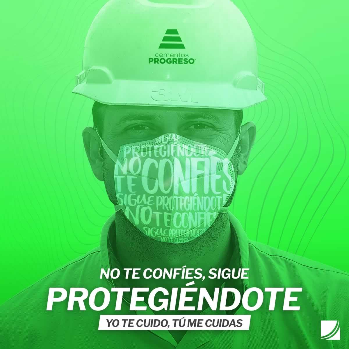 cementos progreso latam guatemala covid19 covid mascarilla face mask proteger