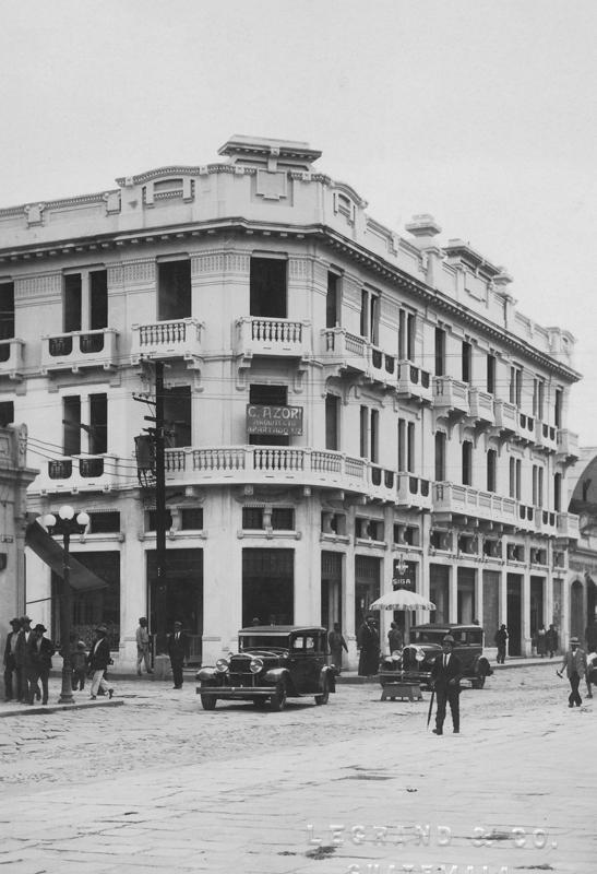 edificio rendueles centro historico guatemala zona 1 Fototeca Museo Carlos F Novella
