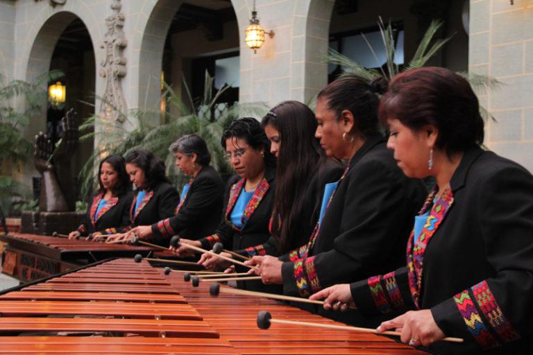 marimba femenina invitacion festival