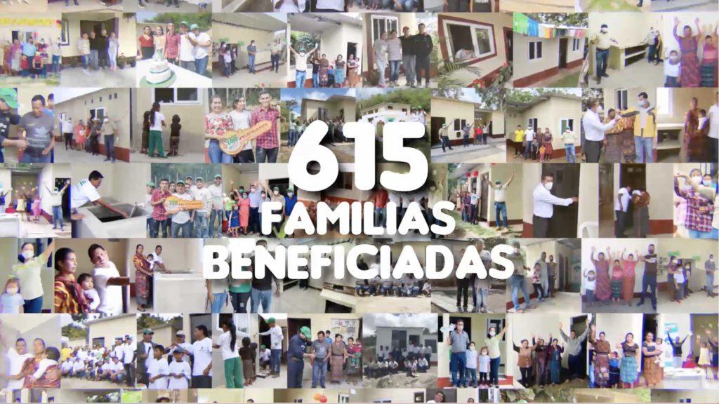 juntos por tu hogar alcance familias beneficiadas a septiembre 2021 615 Progreso Guatemala Latam