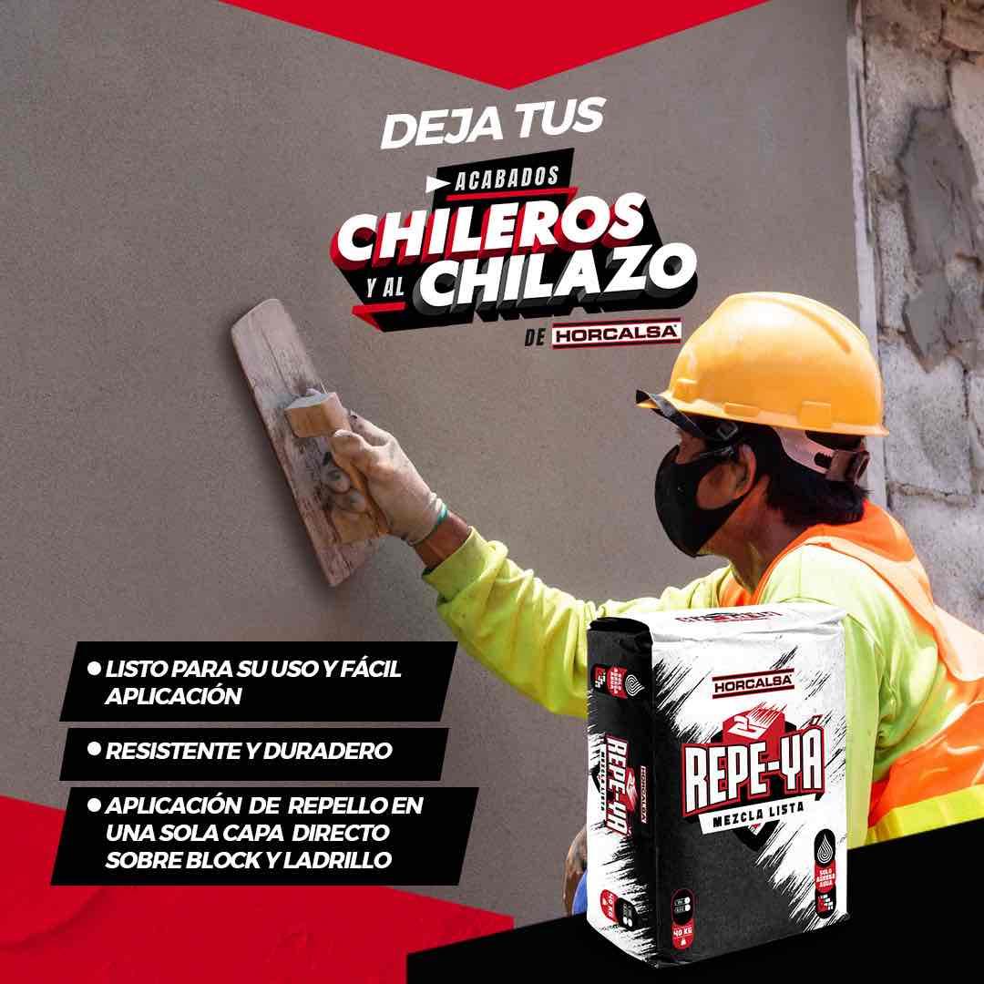 REPE-YA es el nuevo producto de Horcalsa para repellar - cement render